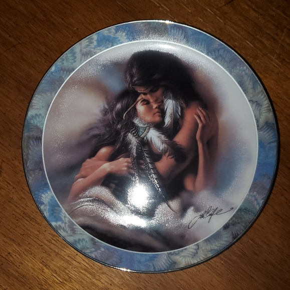 The Lovers plate by The Bradford Exchange